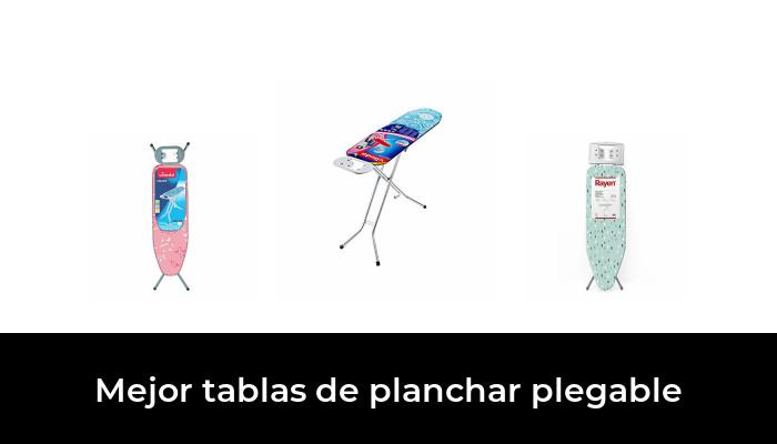 Blanco Medida Rayen Tabla de Planchar Plegable 112 x 40 cm