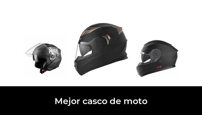 Casco Universal para Hombre y Mujer(Negro) KKmoon Casco Moto Abierto,54-60CM Media Cara Casco con Visera Anteojos Correa Adjustable para Barbilla