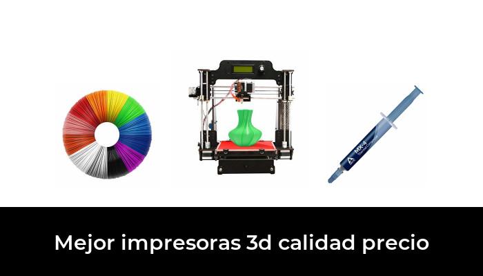 50 La Mejor Impresoras 3d Calidad Precio En 2020 Según Los Expertos
