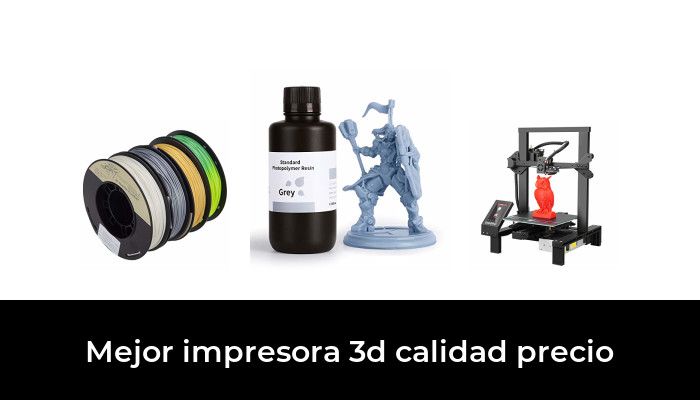 42 Mejor Impresora 3d Calidad Precio En 2021 Según Los Expertos